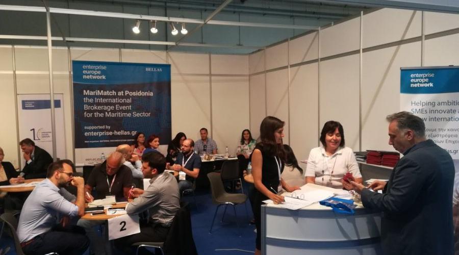 MariMatch: More than 275 B2B meetings at the Posidonia International